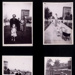 Photographs (4) & letter - Eden Camp when used by displaced persons - circa 1948 or 1949 - Ukrainian men and woman - warden and managers daughter - model castle built by German POWs ; 1/01/1948; 1993
