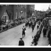 """Photographs (4) - Royal Navy parade in egham - Surrey - possibly members of crew of """"H.M.S. Orestes""""; 8876"""