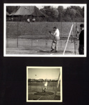 2x photos of J.B McFeat competing at Battery Sports in Berlin, May 1953; 76927