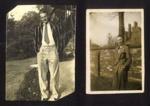 3x Photos of Alan Fletcher, 42494, R.A.F, WW2; 77922