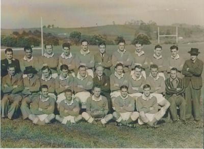 Bucklands Beach United Rugby Football Club Juniors; c1950; 2017.385.50