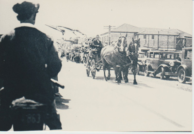 Opening of the concrete road; Grindrod, Albert; 24/01/1931; 2017.558.65