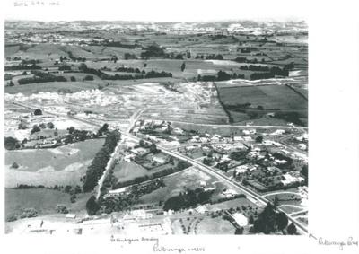 Aerial view of Pakuranga c.1970; Whites Aviation; c1970; 2016.494.102