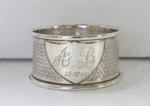 Silver serviette rings; 1811; O2017.153.01