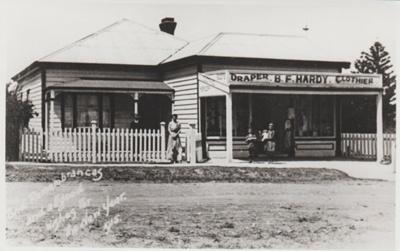 B F Hardy, draper; 1915; 2018.071.01
