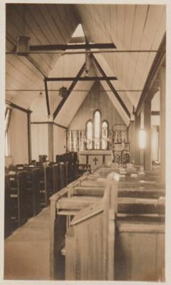 All Saints Church Interior; Coyle, Ruth; 2018.230.08