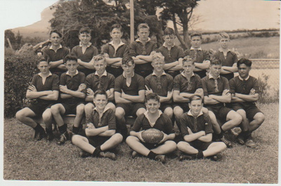 Howick District High School Rugby Football primary A team.; 1946; 2019.072.21
