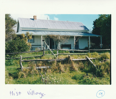 The Vicarage at the Historical Village.; Eastern Courier; December 2000; P2020.27.02