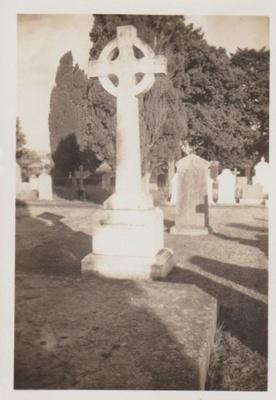 The Ponsonby Peacocke grave at All Saints Church; Hattaway, Robert; 2018.216.82