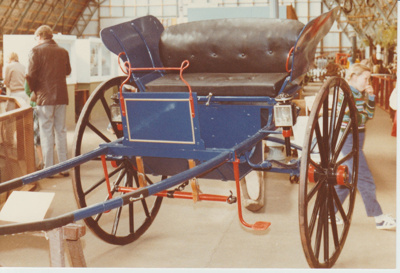 A buggy in the Clydesdale Museum; 30/08/1981; 2017.553.30