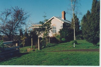 Ambrose Trusts's cottage; La Roche, Alan; 1990; 2017.627.45