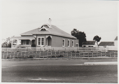 The Roberts Farm Homestead on Pakuranga Road; McCaw, John?; 1970; 2018.132.25