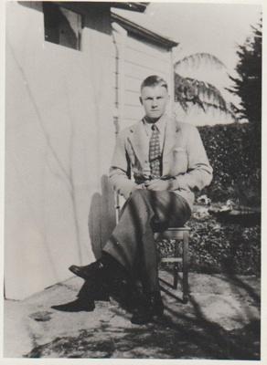 Robert Hattaway at Onerahi; 1934; 2018.364.10