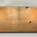 Brass printing plate for name cards; Hughes & Kimber, Manufacturers, London EC; O2018.86