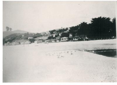 Maraetai Beach 1935; Grindrod, Albert; 29/01/1935; 2017.301.55