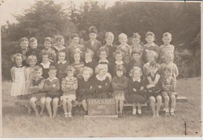 Howick District High School Primer IIB, 1950; Sloan, Ralph S, Auckland; 1950; 2019.072.34
