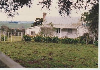 Ambrose Trusts's cottage; La Roche, Alan; 1/08/1989; 2017.627.44