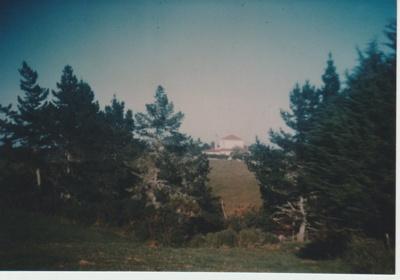Bell House from Bradbury's farm.; Wigley, Paul; 1950; 2018.061.64