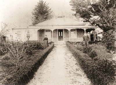 McMillan Home/ Woodcote, Bleakhouse Rd, Howick. C 1880.; C 1880; 11073