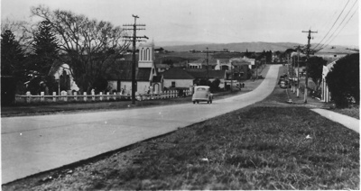Howick - Picton Street from East; 1947