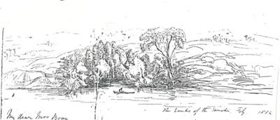 Panmure Basin c1860; 1854; 2017.249.06