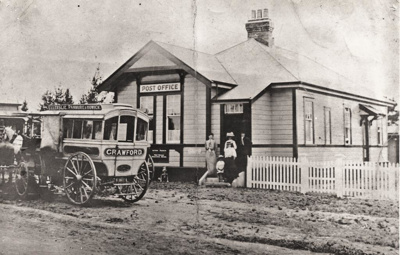 Post Office, Picton St, Howick. Original phototake...