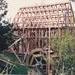 Bycroft's flour mill in Howick Historical Village under construction.; La Roche, Alan; 20 September 1992; P2021.86.07