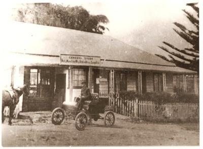 Wagstaff's General Store, Howe St, Howick. Origina...