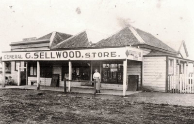 Sellwood's Store, Picton St, Howick. Public Hall/ ...