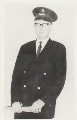 Lionel Dalbeth, Bus Inspector; 2017.491.06