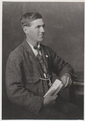 Abraham Grigg aged 21.; 1918; 2018.357.05