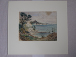 [Bay with surrounding trees and scrub]; Col. A. Morrow (1842-1937); Unknown ; 1998.9