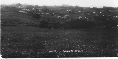 View of Howick from Sale Street towards Selwyn and...