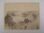 'A Sheltered Bay, Waiheke'; Col. A. Morrow; 27th December, 1928; 1997.135