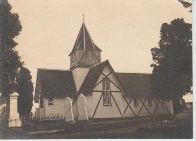 All Saints Church 1940; La Roche, D M G; 1940; 2018.223.90