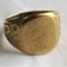 Gold signet ring; O2018.95