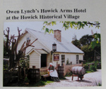 Boxed Collection Alan La Roche research files Howick Arms Hotel; Alan La Roche; 1975-2010; 2012.55.1