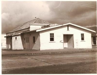 Town Hall built by Oddfellows Lodge, circa late Vi...