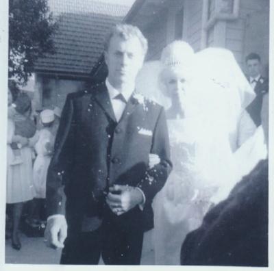 Paul Buckley's wedding.; 1969; 2018.419.19