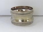 Silver serviette ring; O2017.153.07
