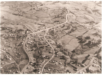 Aeria view of Howick from the North - featuring Se...