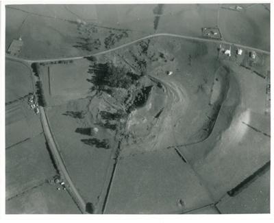 Aerial view of Pigeon Mountain; Whites Aviation; 1958; 2016.163.104
