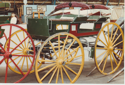 4 seater brake at the Clydesdale Museum; 30/08/1981; 2017.553.33