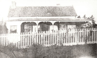 Brindle's Cottage, 33 Drake St, Howick, 1922. Was ...