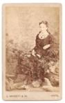 Carte de Visite of unknown woman.; C. Wherrett & Co.; 2010.101.1