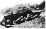 New Zealand Army Tank at Mellons Bay 1942; 1942; 7267