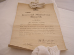 'Central Midwives Board' Certificate.; 2011.50.1