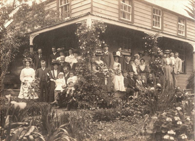 Cascade Homestead and Hattaway Family at a Weddi...