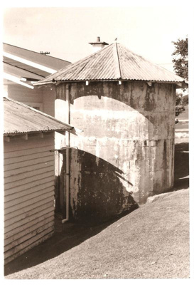 Crawford's Dairy & tank, Picton Street, Howick. Built 1930.; Alan La Roche; 11092