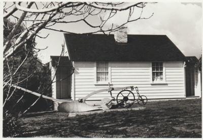 The McDermott cottage in the Garden of Memories.; 1967; 2019.091.21